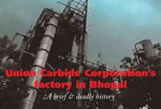 Union Carbide Corporation's factory in Bhopal