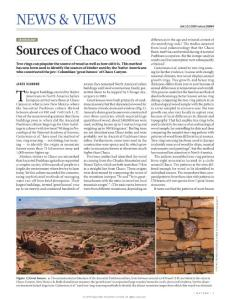 nature16864-Archaeology- Sources of Chaco wood
