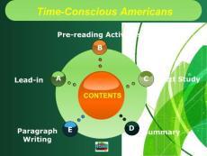 【新视野大学英语读写教程第二册】Unit 1 Time-Conscious Americans讲义