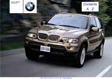 BMW X5 Owners Manual ..