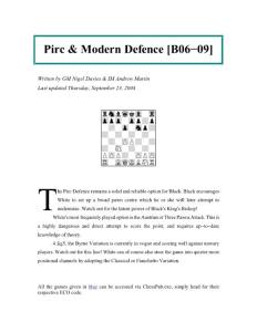 Pirc & Modern Defence B06-B09_Nigel Davies & Andrew Martin