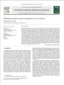 cmdp based adaptive powe..