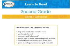 HOOKED ON PHONICS 英语拼音教材 二年级SECOND_GRADE_LEVEL_1