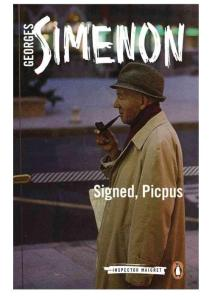 Georges Simenon - [Inspector Maigret 23] - Signed  Picpus (To Any Lengths; Maigret and the Fortuneteller) (retail) (epub)