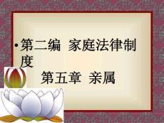 【法学课件】婚姻法II