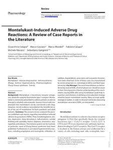 Montelukast-Induced Adv..