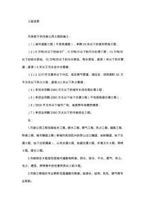市政公用工程总承包三级资质承揽范围_建筑土木_工..