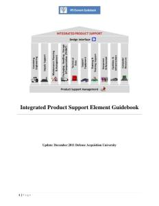 Integrated Product Support Element Guidebook - ...