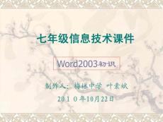 word2003入門