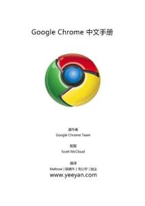 关于chrome浏览器有用的技术