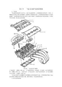 帕萨特B5维修手册 第三节  气缸盖及配气机构的维修