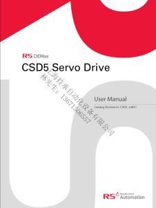 CSD5 Servo Drive选型RS OEMAX