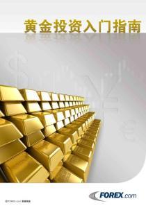 黄金投资入门指南