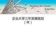 企业大学发展规划_解决方案_计划解决方案_实用文档