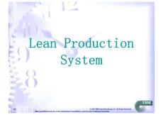 00717-Lean Production System