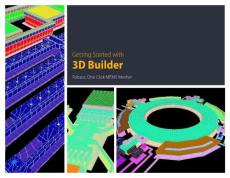 getting started with 3d builder - intellisense