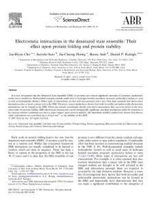 electrostatic interactio..