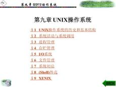[PPT]-第九章UNIX操作系统