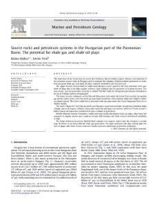 外文Source-rocks-and-petroleum-systems-in-the-Hungarian-part-of-the-Pannonian-Basin-The-potential-for-shale-gas-and-shale-