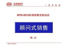 比亚迪汽车-2012标准销售流程进阶培训(最新版).ppt
