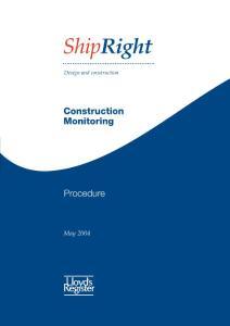 Construction Monitoring..