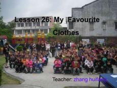 四年级英语上册 Lesson 26..