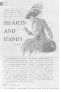 HEARTS AND HANDS(心和手) 作者:欧亨利