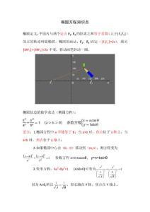 高考数学之图解椭圆方程