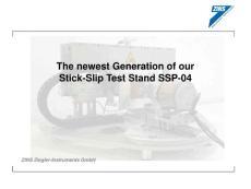 zins-ziegler-instruments Stick-Slip test stand粘滑测试仪 SSP-04