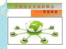中国林业发展新概念——智慧林业解读
