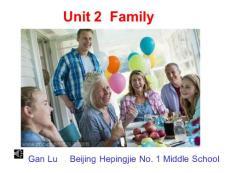 Unit 2  Family
