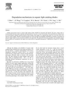 2. Degradation mechanism..