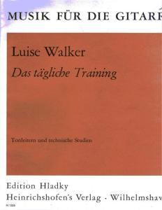 Luise Walker-Das ta gliche Training