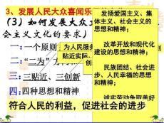 (3)如何发展大众文..