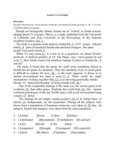 2015考研英语一真题及答案..