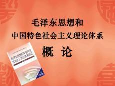 毛泽东思想和中国特色社会..