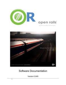 open rails中文操作手册