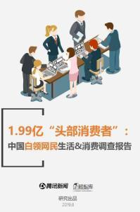 中国白领网民生活+消费调查..
