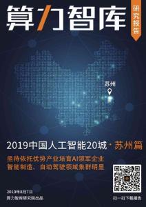 2019中國人工智能城市報告..