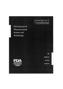 注射剂协会(PDA)技术报告