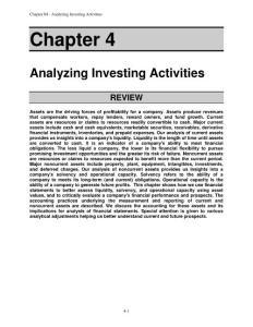 Financial statement analysis (tenth edition)