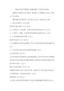 推广公司招标评分标准0308..