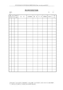 仓储管理篇-库存月报表-商品单价调查月报表