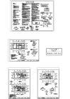 多层砖混结构别墅施工建筑全套设计cad图纸