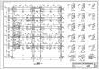 某五层框架医院结构施工cad图(含计算书,毕业设计)