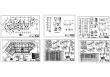 15层框架剪力墙结构中学教育综合楼建筑及结构图(图纸详尽)