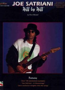 世界著名乐队 原版吉他谱合集 Joe Satriani Riff By Riff  By Rich Maloof