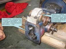 送風機液壓缸拆裝工序