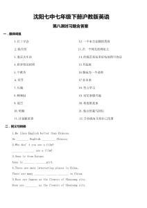 08  沈阳七中七年级下册沪..
