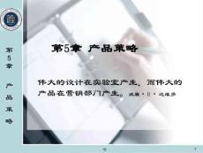 市场营销学第5章(课堂ppt)